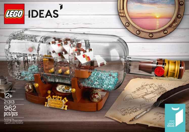 LEGO Ideas Ship in a Bottle (21313)-4